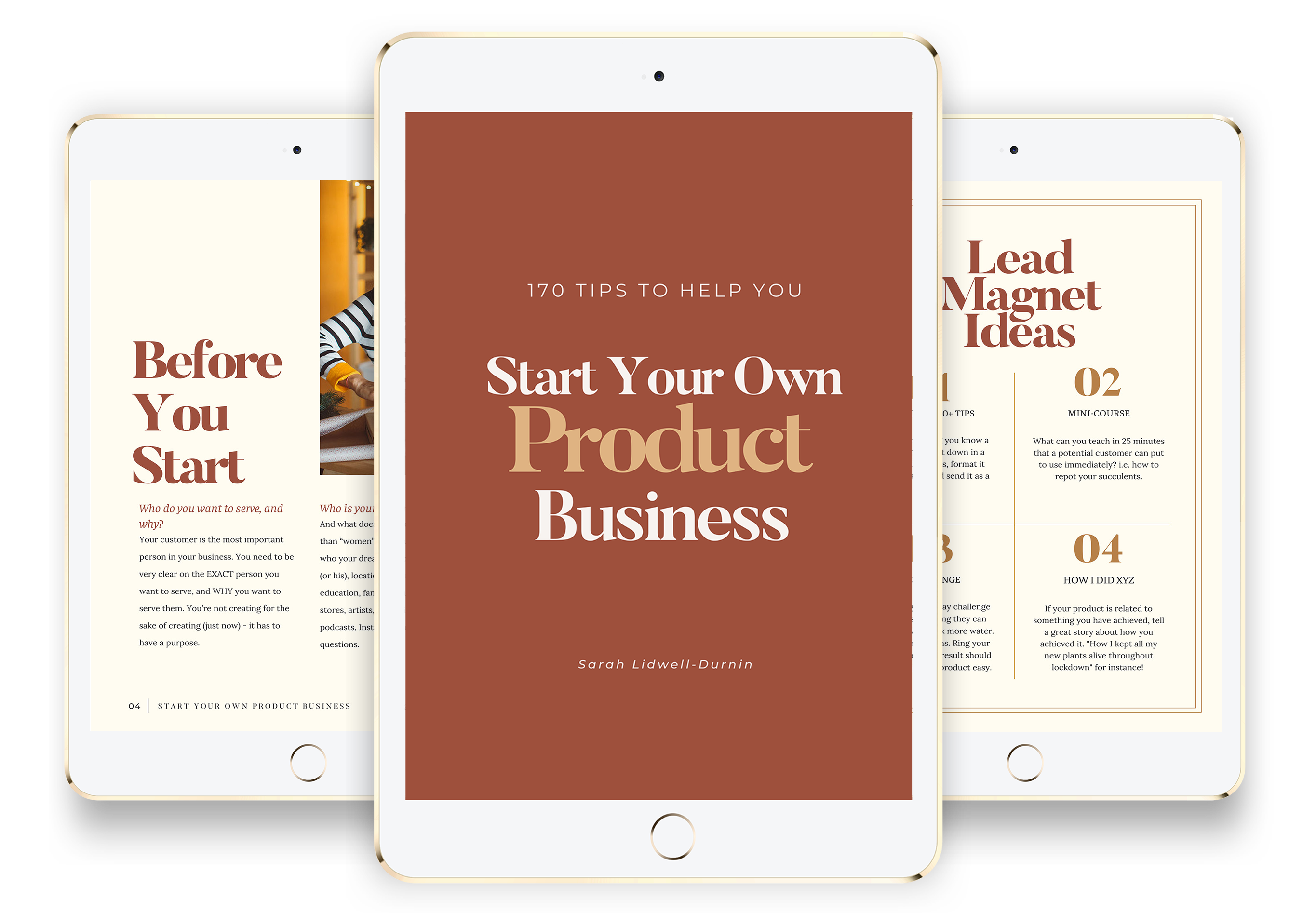 Get 170+ Practical Tips To Help You Start Your New Product Business